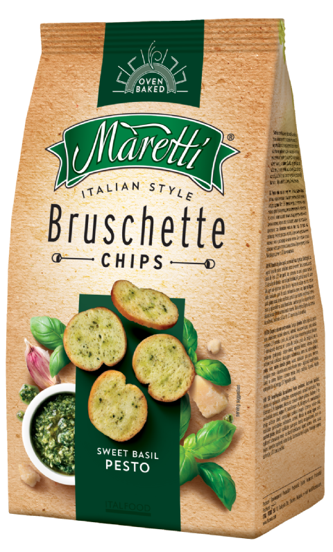 Bruschette Sweet Basil Pesto 70g